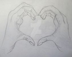 Two Hands, One Heart by Panalicious6