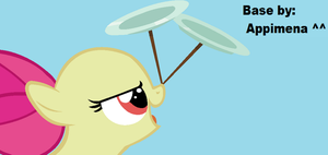 MLP Base: Filly spinning plates by Appimena