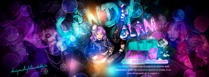 GlamourGaga Header. by HeartitSoul