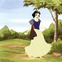 Snow White by Applefied