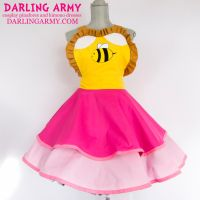 Bee - Bee and Puppycat - Cosplay Pinafore by DarlingArmy