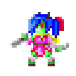 Kitani F.E. map sprite by ElrokFoxx