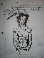 Cracked out little wayne by CassieHack