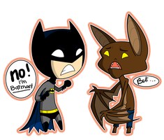 no I'M batman by imJEANNEus