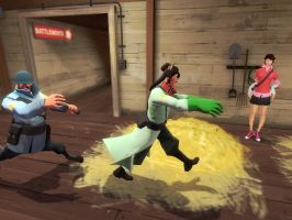 When Wory Koopa plays at Team Fortress 2... by Aso-Designer