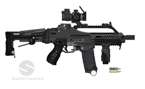 SPW EDC (Electric Defense Carbine) by Xanatos2010