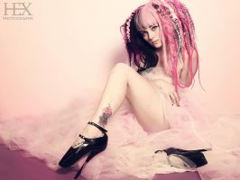 pink is the new black by HexPhotography