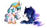 Silly Fillies! by luga12345
