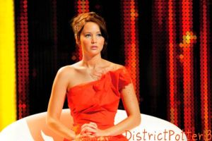 Katniss Everdeen In Her Interview Dress by DistrictPotter13