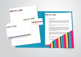 PrintEasy Stationery Set by chykalophia