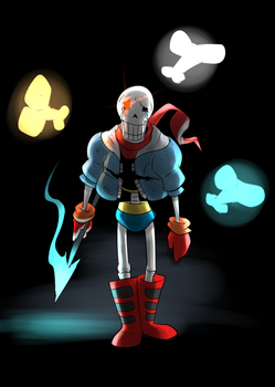 Papyrus no longer believes in you... by Metal-Kitty