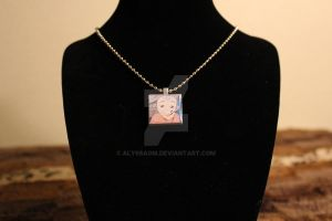 Aang - The Last Airbender - Scrabble Tile Necklace by AlyssaGM