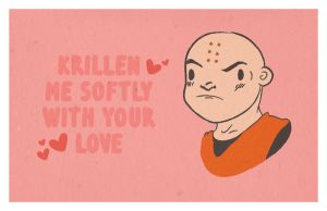 Dragonball Z Valentines Card by saintbabe