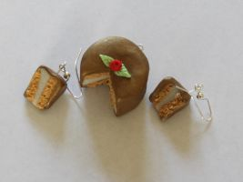 Brown Cake Charms by Purpl3Surreal