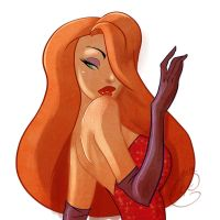 SD - Jessica Rabbit by coda-leia