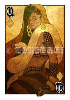 Opium Queen of Diamonds by lokelani