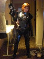 FemShep Cosplay by Viverra1