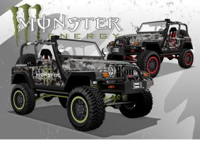 Monster Project Vehicle by kenpoist