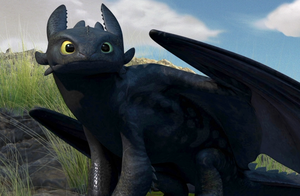 "Toothless - ""Look"" by Rishkhaan"