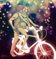 Lightbike Riding by palnk