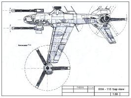 XHA-113 top view by TheXHS
