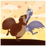Squirrels by ysellyra