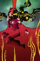 scarlet witch by thugglet