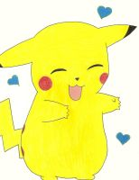 Dancing Pikachu by InsaneKittyKat