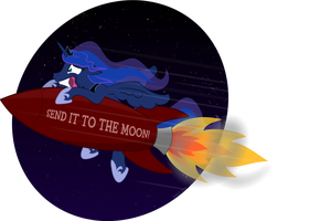 TO THE MOON by TeasIe