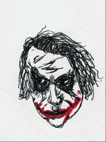 Joker Floating Head of Doom by ResidentofBoxFive