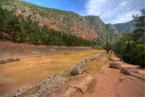 The Stadium at Delphi by mr-lacombe