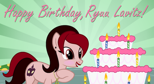 Happy Birthday Ryuu Lavitz!!! by TheRockinStallion