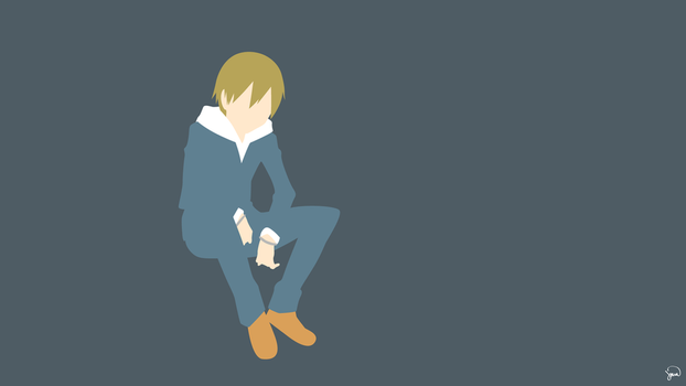 Masaomi Kida (Durarara!!) Minimalist Wallpaper by greenmapple17