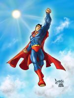 Superman by AndreaCelestini