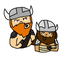 We are dwarves and we're digging a hole (Collab) by iznj