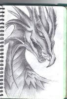 Drawings / Mythical Dragon by DigitalSys