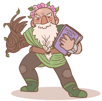 plant dad by MoyoNyt