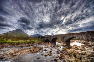 Sligachan Bridge by Spyder-art