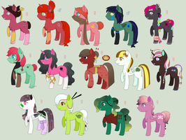 Pony OCs + Breedings by 77SAR77
