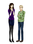 Sherly and John by RoxieChelle