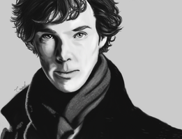 Benedict Cumberbatch by Crusnik-O2
