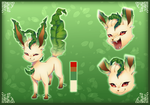 Healer the Leafeon by Straviios