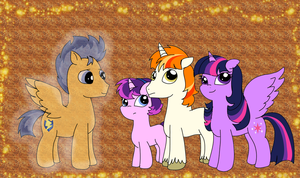 (OLD) Flashlight Family by PurfectPrincessGirl