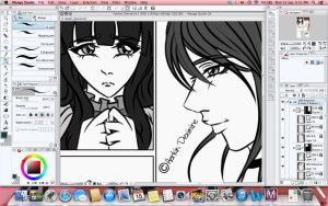 Manga Style (Not yet done) by HarkinDeximire