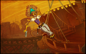 + make my getaway + by Teloka