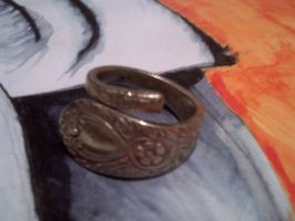 First attempt at jewellery (sort of vintage ring) by abigail-yule
