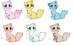 1 Point Adoptables by CatLovee