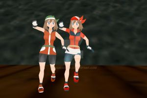 Pokemon MMD: May (Orginal and Emerald) DL by Dramakid99