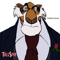Shere Khan by PUFFINSTUDIOS