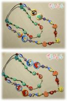 Necklaces Angry Birds by Snufkin-Girl